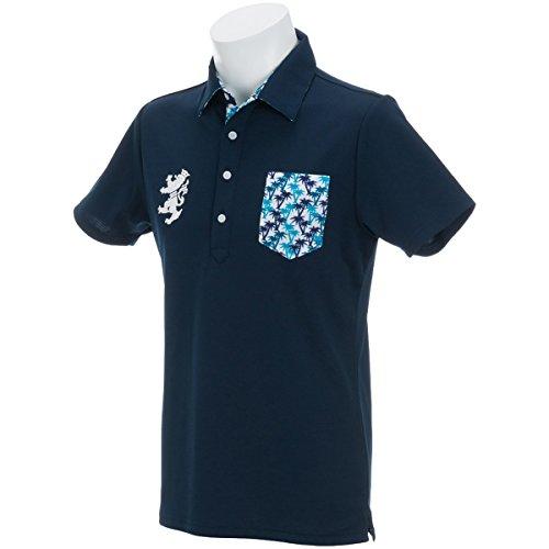 アドミラル Admiral 半袖シャツ?ポロシャツ パーツ マイクロヤシの木 半袖ポロシャツ