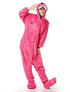 Unisex Adult Kigurumi Animal Onesie Pajamas Costume Cosplay Clothing Sleepwear Romper Outfit