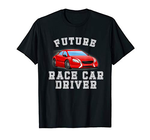 Future Race Car Driver Costume T-Shirt for Adults