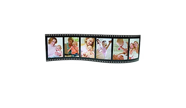 Amazon.com - Horizontal Filmstrip Frame Wave Frames - Holds 3 Photos ...