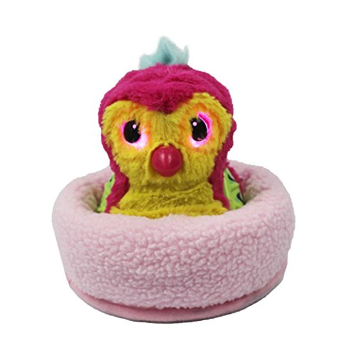 Sinfu 1x Baby Toy Education Egg Head Bed Nest Nesting Fleece Egg Holder Toy (B)