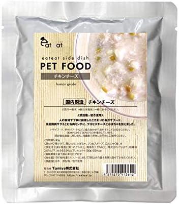 [スポンサー プロダクト]イートイート (eateat) 国産無添加おかずレトルト チキンチーズ 90g ウェットフード (1袋)