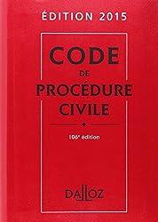 Code Dalloz Expert. Code de procédure civile 2015 - 11e éd.