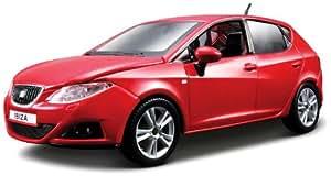 Bburago Collezione KIT 18-25090 Seat Ibiza - Coche miniatura (escala 01:24), color rojo