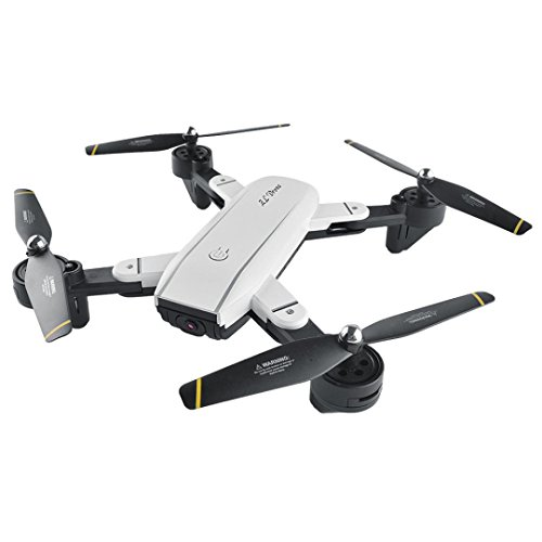 Inverlee SG700 Quadcopter Drone 2.4Ghz 4 CH 360° Hold WiFi 2.0MP Optical Flow Dual Camera (White) by Inverlee