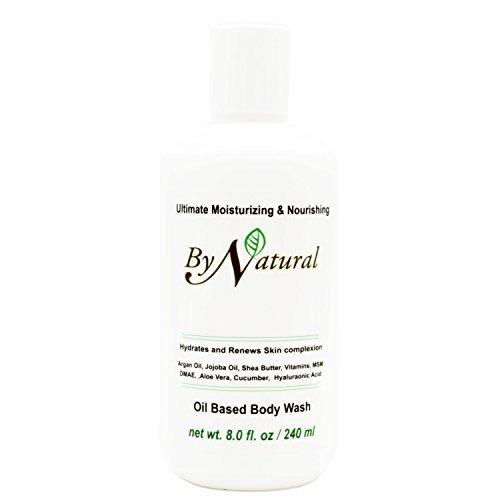 (ByNatural Ultimate Moisturizing & Nourishing Oil Based Body Wash - Aloe Vera, Cucumber, Shea Butter, Natural Vitamin E, Lecithin (Trial Size ( 2 fl. oz / 240 ml)))