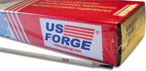Weld Rod - US Forge Welding Electrode E7018 1/8-Inch by 14-Inch 10-Pound Box #51834