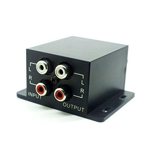Professional Universal Car Bass RCA Adjust Remote Amplifier Car Audio Regulator Amplifier Video Amplifier Loudspeaker Bass Subwoofer Crossover Controller Regulator
