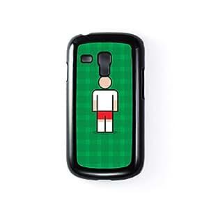 Hamburg Black Hard Plastic Case for Samsung? Galaxy S3 Mini by Blunt Football European + FREE Crystal Clear Screen Protector