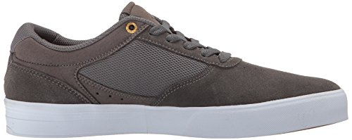 Emerica Men's Empire G6 Skate Shoe, Tan Gum Grey/White