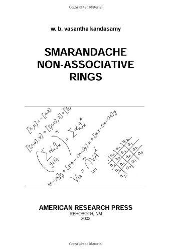 Smarandache Non-Associative Rings pdf epub