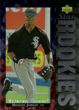 1994 Upper Deck Electric Diamond #19 Michael Jordan Baseball Rookie ()