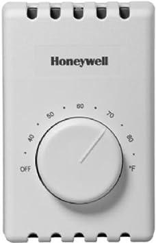 Honeywell Manual 4 Wire Premium Baseboard Line Volt Thermostat Yct410b1000 U