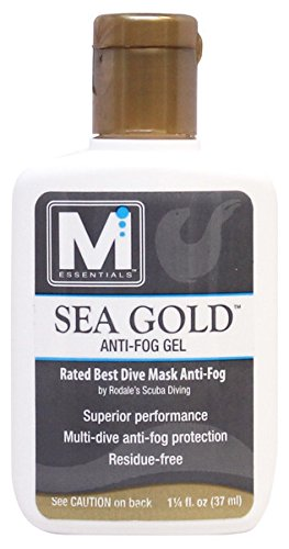 M Essentials Sea Gold Anti-Fog Gel for Dive Masks