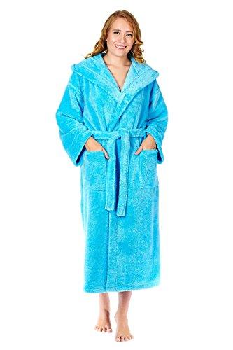Arus - Albornoz - para mujer azul claro