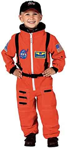 b13df447a95 Aeromax PERSONALIZED Jr. Astronaut Suit with Embroidered Cap and NASA  patches