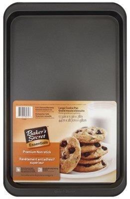 Bakers Secret 1114363 17-1/4 inch x 11-1/4 inch Large Bakers Secret Cookie Sheet