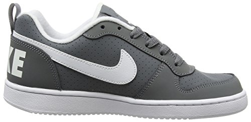 Da Bambino Borough Court Low Nike Basket Grey Scarpe cool Grigio 002 white gs 5ZXq5xw0