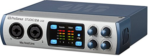 PreSonus Studio 26 2x4, 192 kHz, USB 2.0 Audio Interface