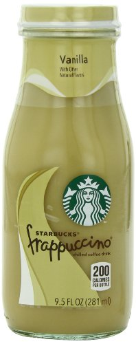 (Starbucks Bottled Coffee Drink, Frappuccino Chilled with Natural Vanilla Flavors, 9.5 FL oz - 12 Pack)