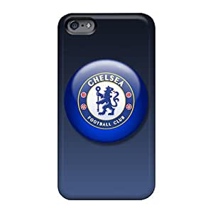 Anti-Scratch Cell-phone Hard Covers For Apple Iphone 6 Plus With Allow Personal Design Realistic Chelsea Fc Image TimeaJoyce