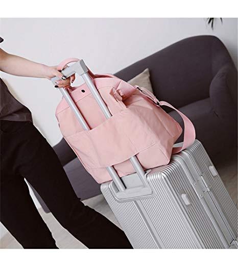 bandoulière étudiants à coréens Messenger Harajuku mobile sacs femmes LANDONA femme à sac Rose bag Le sac de sac court big nouveau qwIIa4