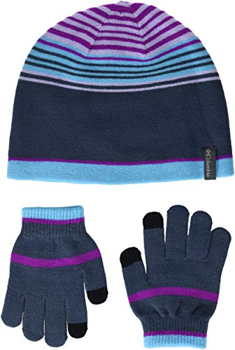 Columbia Kids & Baby Little Kids Hat and Glove Set, Nocturnal, One Size