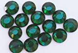 Zink Color Czech Crystal Rhinestone Ss10 Emerald 20Pc Cell Phone Embellishment
