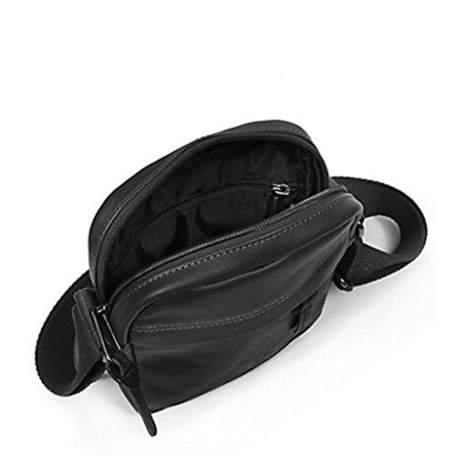 Eastpak Eastpakthe One/Leather - Borsa a Tracolla - Black Ink Leather