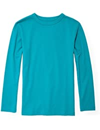 Big Boys Long Sleeve Basic Tee