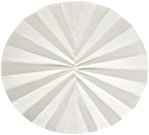 Whatman 1213-240 Quantitative Folded Filter Paper, 30 Micron, Grade 113V, 240mm Diameter (Pack of 100) by Whatman