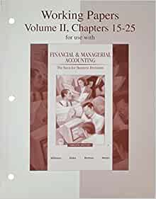 15 25 accounting chapter ii intermediate papers volume working Contact me at dontstress12(at)gmail(dot)com i have the test bank and solution manual to intermediate accounting 16th edition kieso lowest price and a.