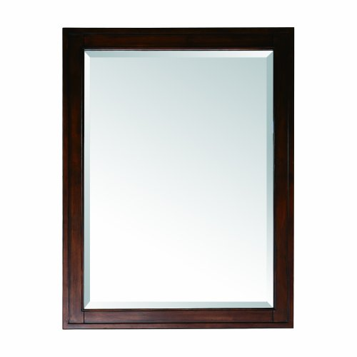 Avanity Madison 28 in. Mirror in Tobacco -