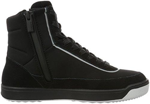 Lacoste Blk 024 Sneaker 416 1 Donna Explorateur Nero Alte Calf FHwqrxFCvP
