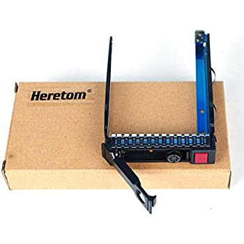 """LOT 10 HP DL380 DL360 G8 G9 2.5/"""" HDD Tray Caddy 651687-001 651699-001 w// Chips"""