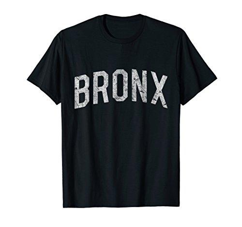 Mens Vintage Bronx T-Shirt Medium Black -