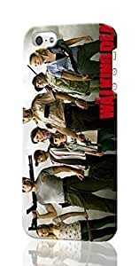 The Walking Dead Pattern Image - Protective 3d Rough Case Cover - Hard Plastic 3D Case - For iPhone 5 5S