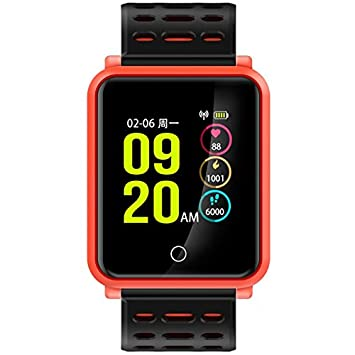 ZEERKEER zeer Keer Reloj de Pulsera bucear Nadar IP68, Color Naranja: Amazon.es: Deportes y aire libre