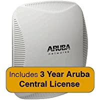 Aruba Networks Instant 225 Wireless Access Point Bundle, 802.11 n/ac, 3x3:3 Dual Radio with 3 Years Aruba Central License