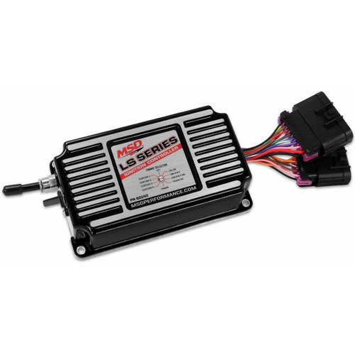 MSD Ignition 60143 MSD Ignition Controller; LS Ignition; For Both 24x And 58x Crank Trigger Engines; Black;