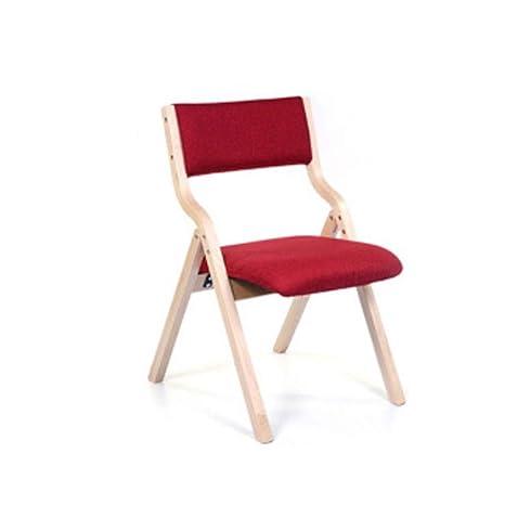 Amazon.com: MUMUMI - Silla plegable de madera para ordenador ...