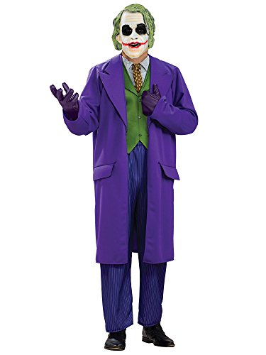 Rubie's Costume Batman The Dark Knight Deluxe The Joker Costume, Black/Purple, Plus -