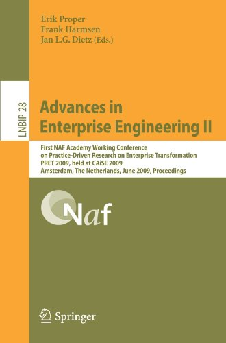 Advances in Enterprise Engineering II: First NAF Academy Working Conference on Practice-Driven Research on Enterprise Tr