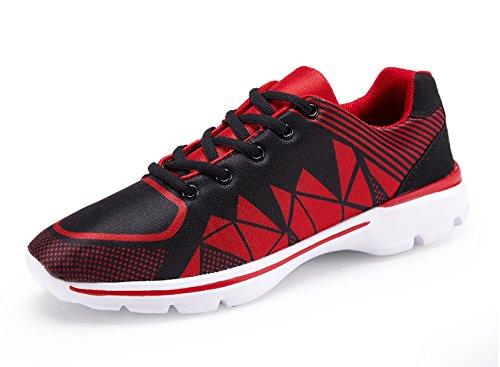 Leichtathletik Laufschuhe für Männer Laufschuhe für Herren 2 # rot