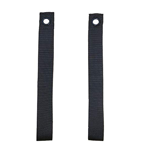 - RORAIMA EZ Hood Loop Tie Down Anchor Straps for Hauling The Canoes or Kayaks No More Bend Over to Hook Underneath No More Hood Scratch Size 9.8