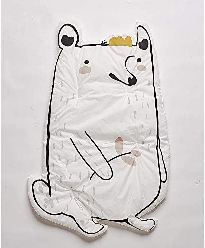 ベビープレイマット 子供敷物カーペットプレイマットコットン用ベビーフロアプレイマットクロール保育園キッズルーム装飾120×65センチ (色 : Raccoon, サイズ : 120*65cm)