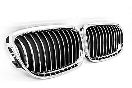 Seitronic/® Reins Grille avant Grille de radiateur//en chrome//noir//chrome en ABS de haute qualit/é .