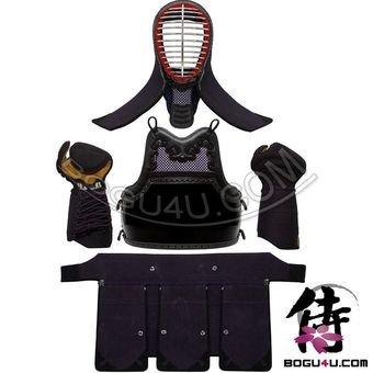 Bogu4u (PBM-11B2) Pre-Made Imitation Leather Beginner kendo bogu with B2 ()