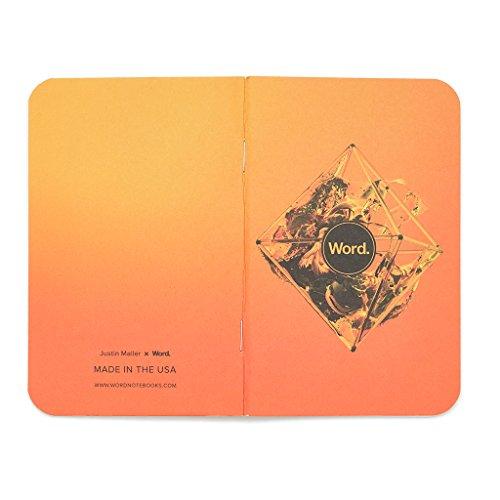 Word. Notebooks Artist - Justin Maller (3-pack) Photo #4