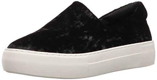 J Slides Women's Angel Fashion Sneaker Black Velvet uEPeN